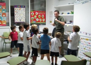 Teaching at Alba Ingles