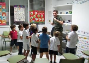 Teaching at Alba Ingles