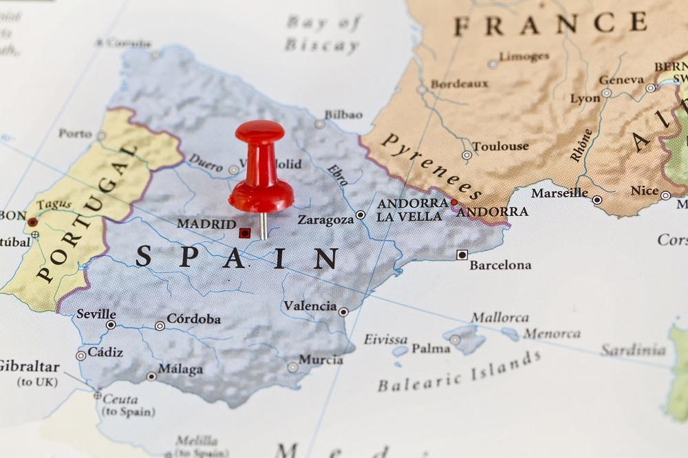 TEFL_Spain_map