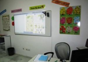 Classroom at Alba Inglés